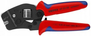 Knipex 97 53 08 Zaciskarka praska do tulejek do 10mm2